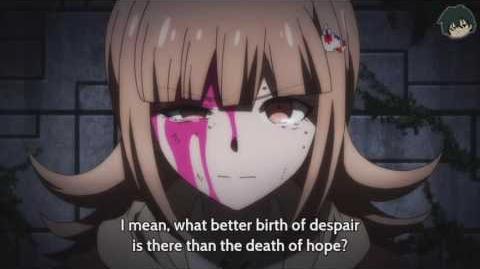 Chiaki Nanami's Death Danganronpa 3 The End of Kibougamine Gakuen - Zetsubou-hen (Despair Arc)