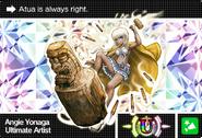Danganronpa V3 Bonus Mode Card Angie Yonaga U RU