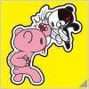 Danganronpa x Mori Chack Sticker D