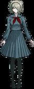 Danganronpa V3 Kirumi Tojo Fullbody Sprite (High School Uniform) (1)