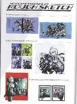 Art Book Scan Danganronpa V3 Rough Sketch (1)
