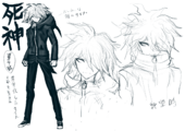 Danganronpa 2 Character Concept - 1.2 Reload Art Book (7).png