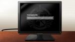 Danganronpa 1 CG - Jin Kirigiri's computer password screen