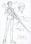 Danganronpa 3 - Character Profiles - SHSL Marksman (Sketches)