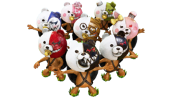 Pixeljunk Monsters 2 - Monokuma Masks