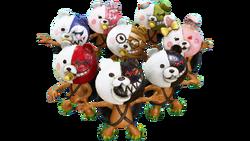 Pixeljunk Monsters 2 - Monokuma Masks