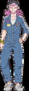 Danganronpa 3 - Fullbody Profile - Kazuichi Soda