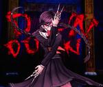 Danganronpa 1 CG - Genocide Jack showing off her scissors (English)