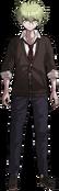 Danganronpa V3 Rantaro Amami Fullbody Sprite (High School Uniform) (1)
