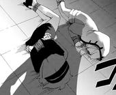 Danganronpa Killer Killer Chapter 2 Misaki Asano and Mekuru Katsuragi bound.png