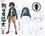 Danganronpa Another Episode Design Profile Yuta Asahina