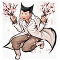 Danganronpa 1 Santa Shikiba Rui Komatzusaki Illustration
