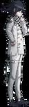 Danganronpa V3 Kokichi Oma Fullbody Sprite (Debate Scrum) (1)