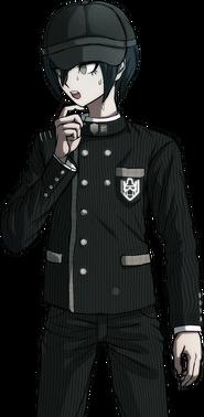 Danganronpa V3 Shuichi Saihara Halfbody Sprite (Hat) (18)