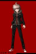Danganronpa 1 Fullbody Profile Makoto Naegi