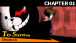 Danganronpa 1 CG - Chapter Card Deadly Life (Chapter 1)