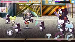 Houkai Gakuen 2 x Danganronpa 2020 Screencap