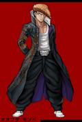 Danganronpa 1 Fullbody Profile Mondo Owada