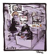 Sketch Nouvel An Mitomo Sasako