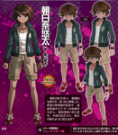 Danganronpa Another Episode Famitsu Profile Yuta Asahina