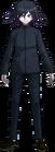 Danganronpa V3 Kokichi Oma Fullbody Sprite (High School Uniform) (1)