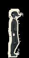 Danganronpa V3 Shuichi Saihara Death Road of Despair Sprite (Hat) 01