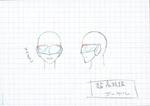 Danganronpa 3 - Character Profiles - Visor (Sketches)
