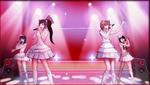 Danganronpa 1 CG - Sayaka Maizono's idol group in Sayaka's motive video (3)