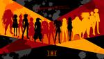 Danganronpa 1 CG - Surviving Students Splash Screen (Chapter 2)