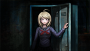 Danganronpa V3 CG - Pre-Game Kaede Akamatsu exiting the locker (1).png