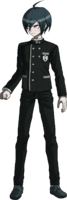 Danganronpa V3 Shuichi Saihara Fullbody Sprite (No Hat) (14)