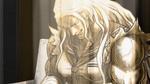 Danganronpa 1 CG - Sakura's smiling corpse