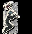 Danganronpa V3 Shuichi Saihara Death Road of Despair Sprite (Hammer) 06