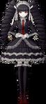 Danganronpa Celestia Ludenberg Fullbody Sprite (Mobile) (17)