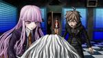 Danganronpa 1 CG - Sakura's corpse discovery (2)