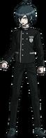 Danganronpa V3 Shuichi Saihara Fullbody Sprite (No Hat) (21)