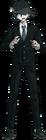 Danganronpa V3 Shuichi Saihara Fullbody Sprite (High School Uniform) (3)