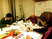 Danganronpa the Animation creators meeting.jpg