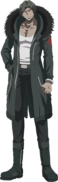 Danganronpa 3 - Fullbody Profile - Juzo Sakakura