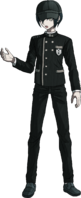 Danganronpa V3 Shuichi Saihara Fullbody Sprite (Hat) (34)