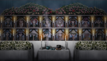 Danganronpa V3 CG - Mass funeral for the students.png