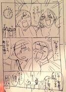 Storyboard manga Mitomo Sasako Sketch