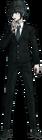 Danganronpa V3 Shuichi Saihara Fullbody Sprite (High School Uniform) (7)