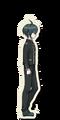 Danganronpa V3 Shuichi Saihara Death Road of Despair Sprite 01