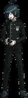Danganronpa V3 Shuichi Saihara Fullbody Sprite (No Hat) (16)