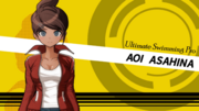 Danganronpa 1 Aoi Asahina English Game Introduction.png