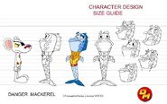 Danger Mackerel size guide