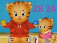 .028 Daniel Tiger Margaret & Zachary 28 24