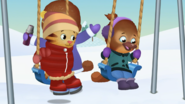 Jodi in winter clothes
