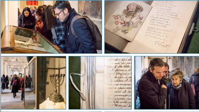תמונות מן התערוכה ל150 שנה חיהדות נפולי 3